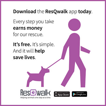ResQWalk App Supports BBMHR with Your Walks!